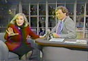 Hermine with David Letterman